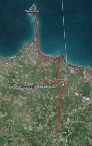 Tour bici sul Garda - sirmione-pozzolengo